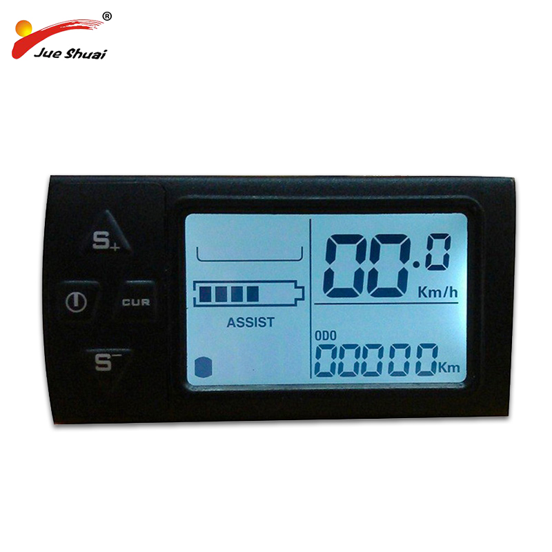 E Bike Computer Electric Bicycle LCD Display For 24V 36V 48V Electric Bike Manual Control Panel High Quality Bicycle Speedometer
