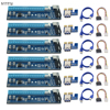 6pcs USB 3 0 PCI E Riser Express 1X 4x 8x 16x Extender Riser Adapter Card
