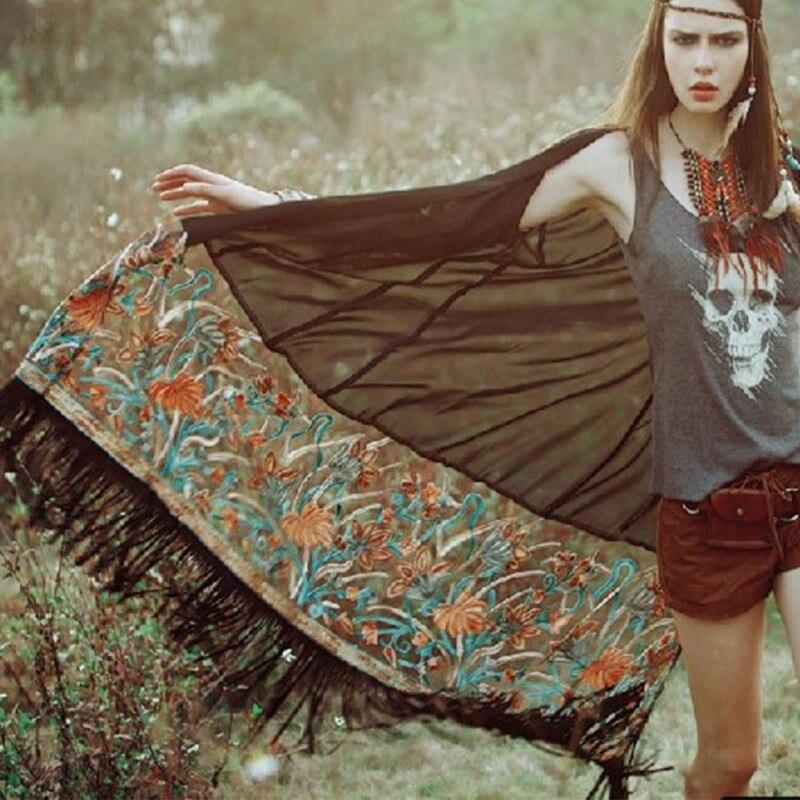 HTB1U kiIpXXXXcCXpXXq6xXFXXXa - Summer Autunm Women Vintage Boho Floral Tassel Long Cardigan