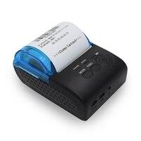 Profesional Mini Impressora de Recibos Térmica Impressora Sem Fio Bluetooth para iOS e Android 58 milímetros Impressora Térmica USB NOS Adaptador