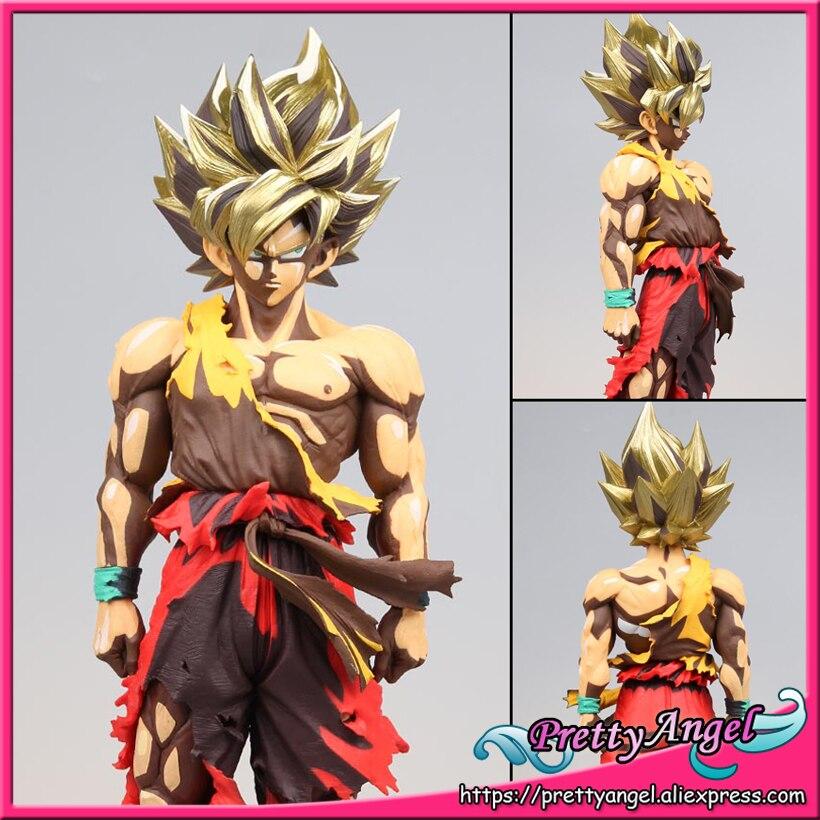цена BANPRESTO Super Master Stars Piece Dragon Ball Z Collection Figures - Super Saiyan Son Gokou -Lunar New Year Color Limited-