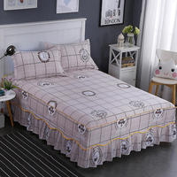 Comfortable 100% Cotton Bed Seet Fitted Sheet Flat Bedsheet Bedspread High Quality Sheets Cover Size 150*200/180*200cm