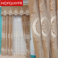 Europe and United States top villa Blackout Velvet curtains for Living Room windows high-end custom luxury curtains for bedroom