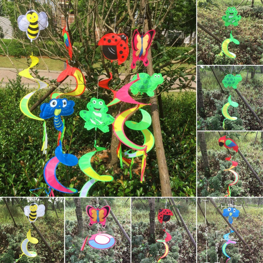 Toy Spiral-Windmill Wind-Spinner Lawn Kids Outdoor-Decor Animal Garden Yard 1pc Colorful