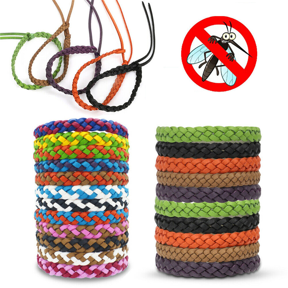 TTLIFE Anti Mosquito Insect Repellent Bracelet Natural Waterproof Spiral Wrist Bands Household Merchandises