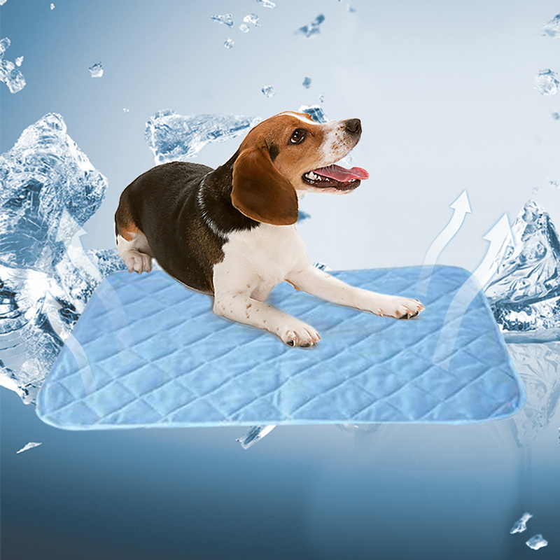 hoomall summer cooling mats for dogs cats pet dog mat ice. Black Bedroom Furniture Sets. Home Design Ideas