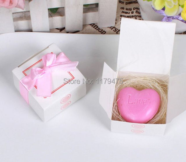 10 Pcs Heart Shape Love Creative Soap Handmade Soap Return Small