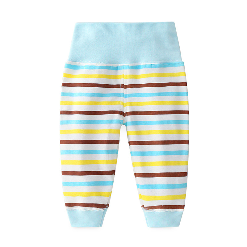 Trousers Pajamas Bottom-Pants Baby-Girl Newborn Autumn Household 0-4-Years-Old Striped
