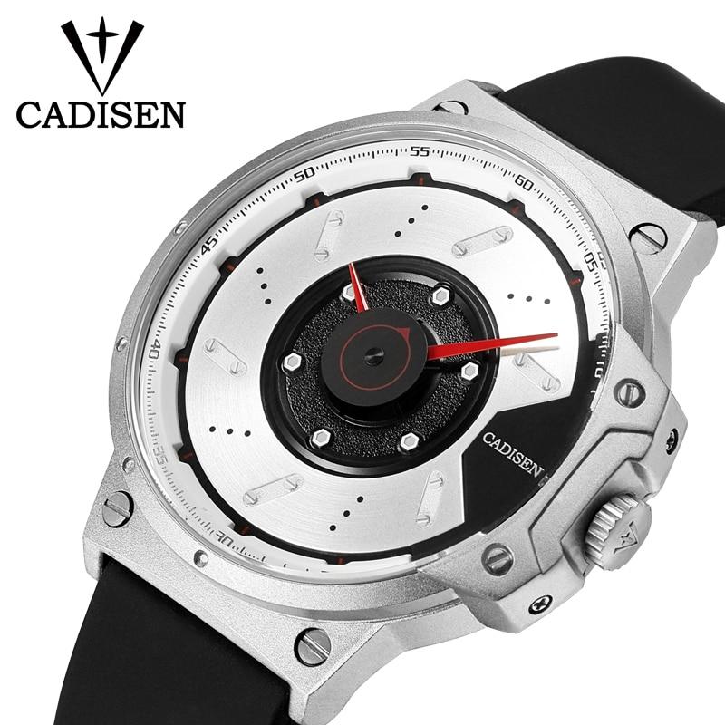 Nuevo CADISEN Deporte Reloj de Cuarzo Impermeable Relojes Para Hombre - Relojes para hombres - foto 3