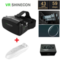 New VR SHINECON 1.0 VR Virtual reality goggles 3D Glasses VR BOX 2.0 google cardboard with headset for 4.5-6.0 inch smartphone