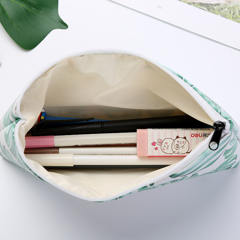 Image 3 - 1pcs/1lot Kawaii Pencil Case Turtle leaf Gift Estuches School Pencil Box Pencilcase Pencil Bag School Supplies Stationery-in Pencil Cases from Office & School Supplies