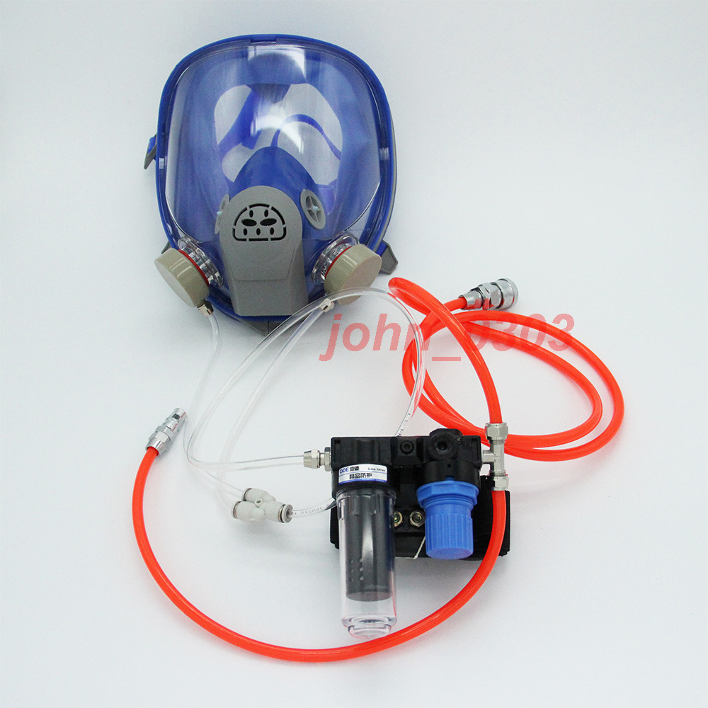 Supplied Air Fed Respirator System 6800 Spraying Full Face Respirator Gas Mask