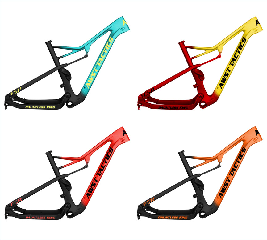New Arrive Enduro 27.5er Full Suspension Carbon Frame Mtb 148*12mm Boost Thru Axle 148mm Rear Travel BB92 29er Carbon Bike