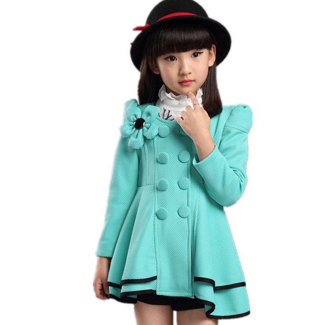Aliexpress.com : Buy Spring Autumn Girl Coat Fashion Casaco Baby ...