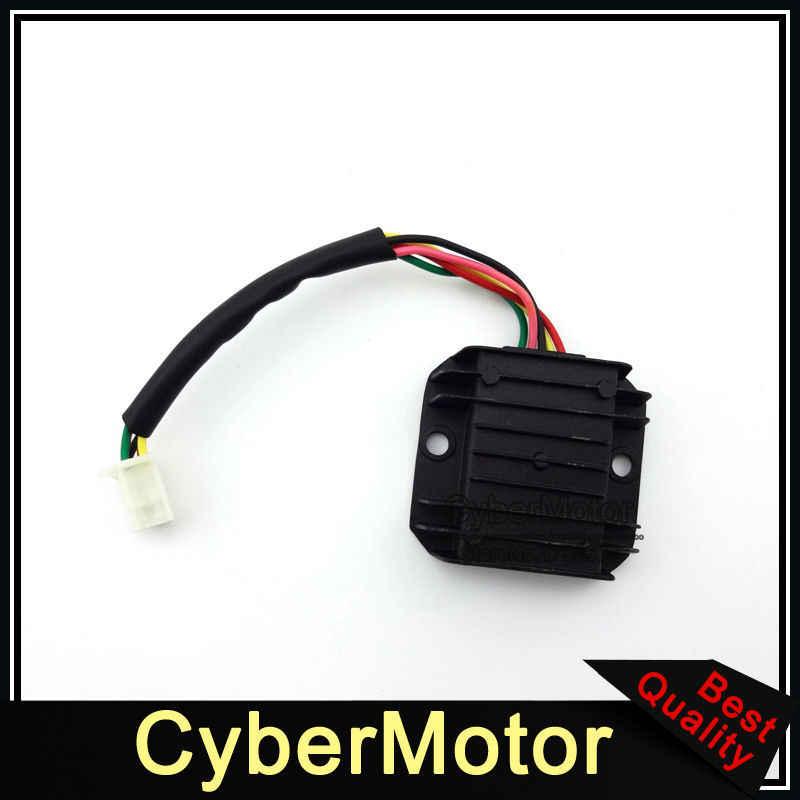 Voltage Regulator Rectifier For Eton Beamer III Matrix 50 Scooter Viper 150R ATV Quad 4 Wheeler