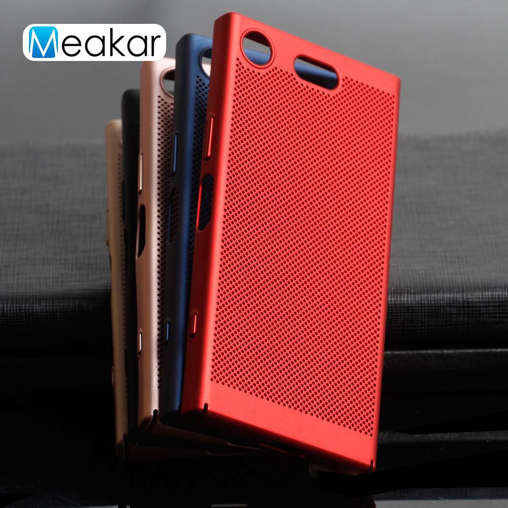 Mesh Coque Cover 4.6For Sony <font><b>Xperia</b></font> Xz1 Compact <font><b>Case</b></font> For Sony <font><b>Xperia</b></font> Xz1 Xz <font><b>1</b></font> Compact G8441 G8442 Phone Back Coque Cover <font><b>Case</b></font> image
