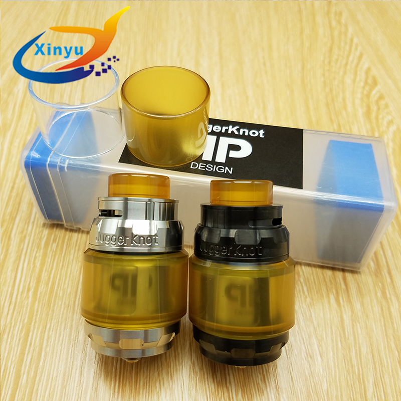 Newest Juggerknot RTA 4ml 316 ss Replaceable Tank Atomizers Top Airflow To Coil Design Postless Deck Pull Up Top Fill RTANewest Juggerknot RTA 4ml 316 ss Replaceable Tank Atomizers Top Airflow To Coil Design Postless Deck Pull Up Top Fill RTA