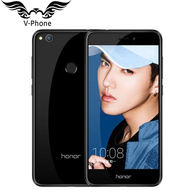 2017 New Original Huawei Honor 8 Lite 4G LTE Mobile Téléphone 3 GB 32 GB Kirin 655 Double SIM 5.2 pouce 12MP Caméra 3000 mAh d'empreintes digitales