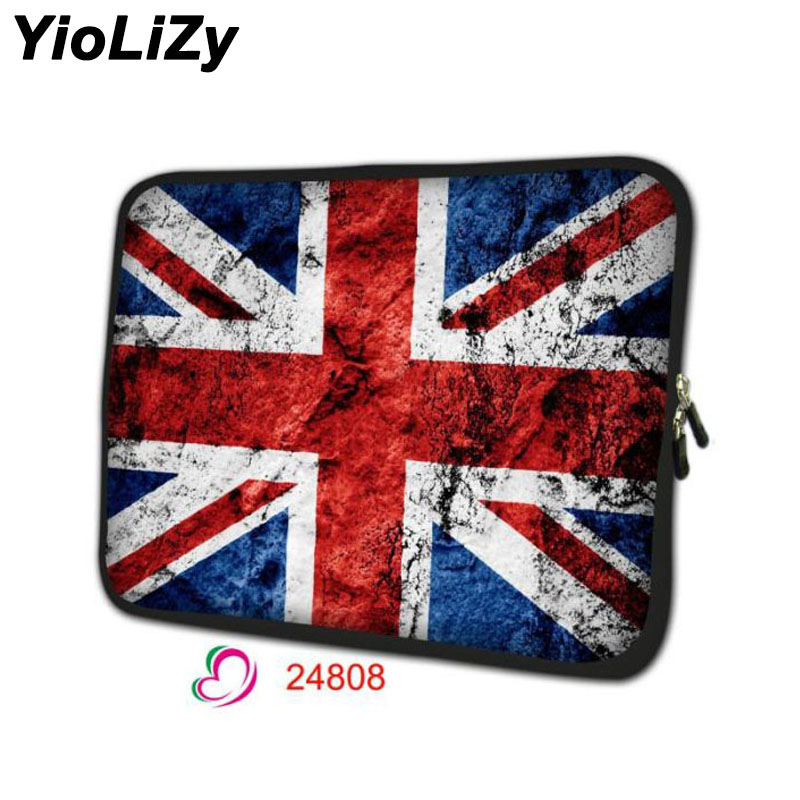 print British flag laptop sleeve 7.9 notebook bag soft tablet case 7 PC protective shell cover for ipad cases mini TB-24808
