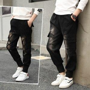 Image 5 - Chłopięce spodnie spodnie sportowe chłopięce spodnie kamuflażowe bawełniane 2020 wiosenne jesienne spodnie dla dzieci Boys Baby Casual spodnie 10 12 lat spodnie dla dzieci