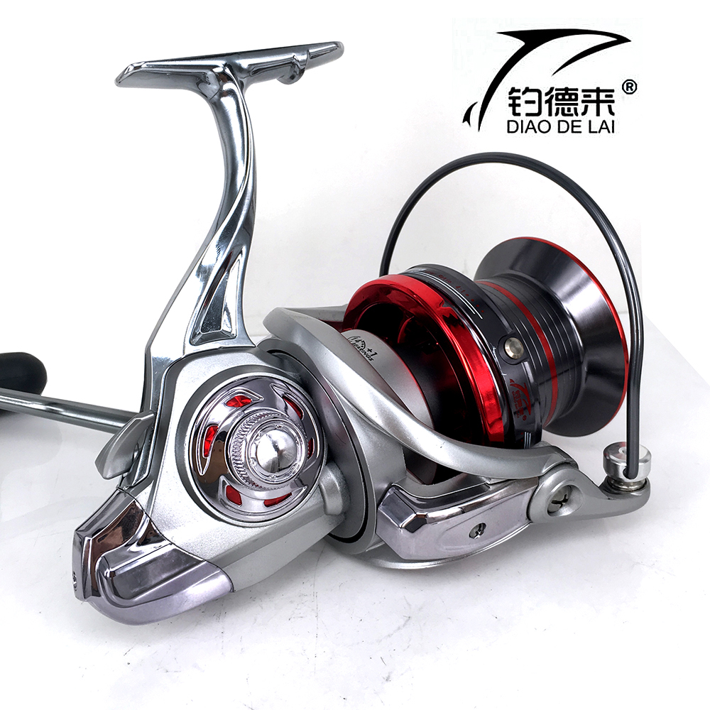 Long Shot Casting Reel 14+1BBs Biggest Spinning Reel Fishing Reel For Carp Fishing Sea Fishing carretilha 9000 10000 12000 fddl 9000 10000 large long shot fishing wheel 12 1bb 4 9 1 full metal line cup spinning reel fishing reel carretilha para pesca