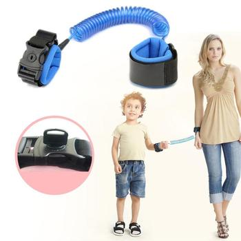 1.5/2/2.5M Kids Outdoor Walking Hand Belt Children Safety Anti Lost Wrist Link Strap Rope Parent-child Adjustable Harness Leash