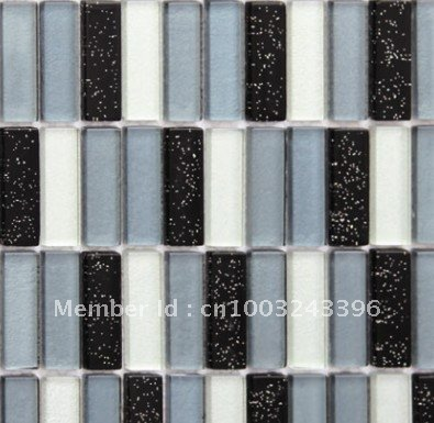 Backsplash Mosaic Wall Tile Guaranteed 100%/glass Mosaic Tiles/crystal Mosaic/wholesale And Retail/ASTM123/swimming Mosaic