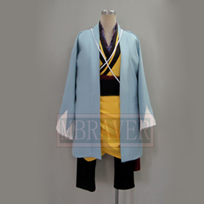 Free Shipping Hakuoki Toudou Heisuke Cosplay Costume Custom Made Any Size