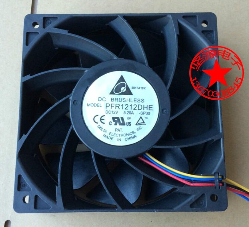 Online Shop Delta PFR1212DHE SP00 DC 12V 5.20A 120x120x38mm Server ...