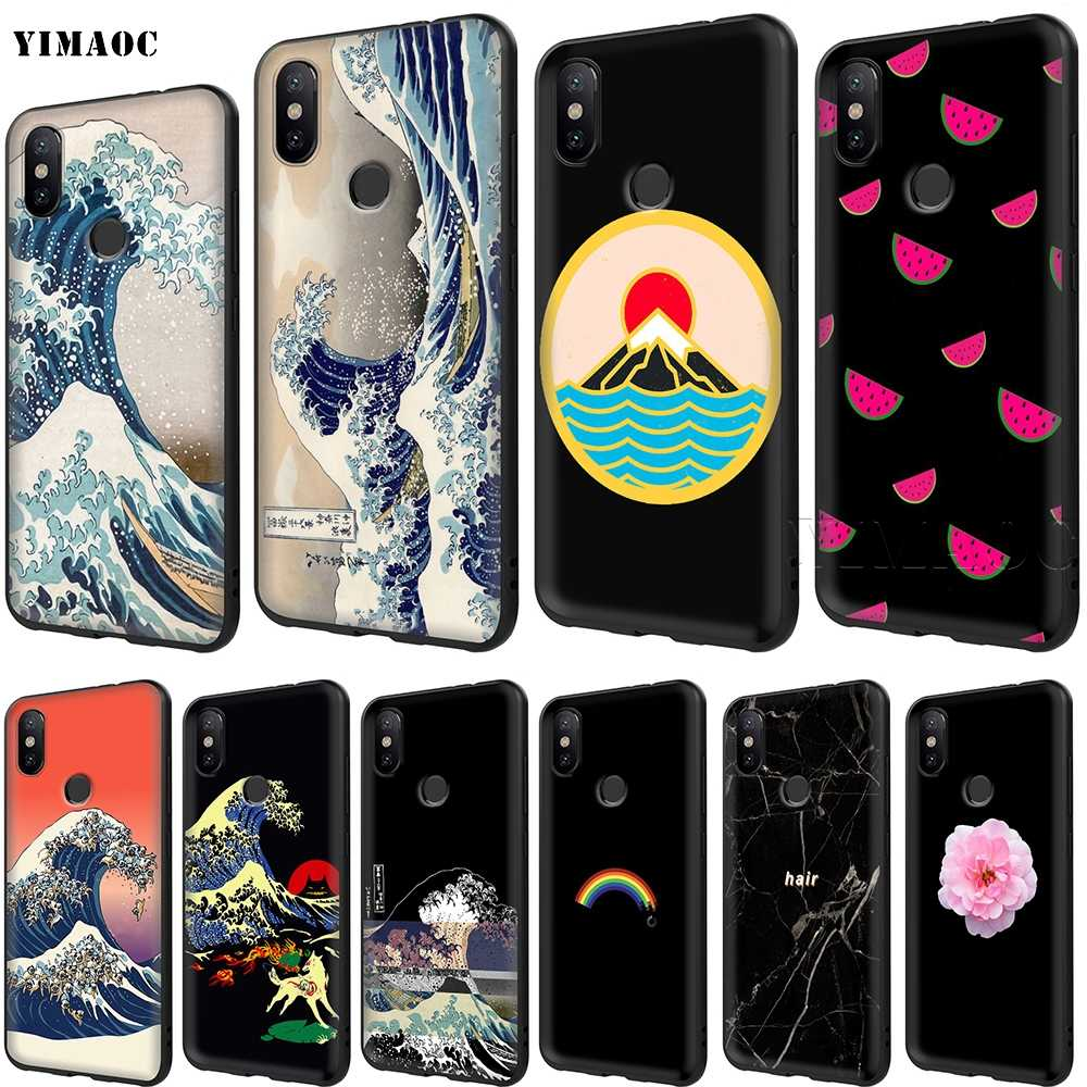 YIMAOC The Great Wave off Kanagawa Japanese Soft Case for Xiaomi Redmi Note MAX 3 6 6A 7 6 8 9 se a1 a2 Pro Lite pocophone f1