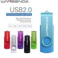 WANSENDA Вращения Usb Flash Drive 128 ГБ Pendrive USB Stick Высокоскоростной флэш-Накопитель Реальная Емкость 8 ГБ 16 ГБ 32 ГБ 64 ГБ подарок