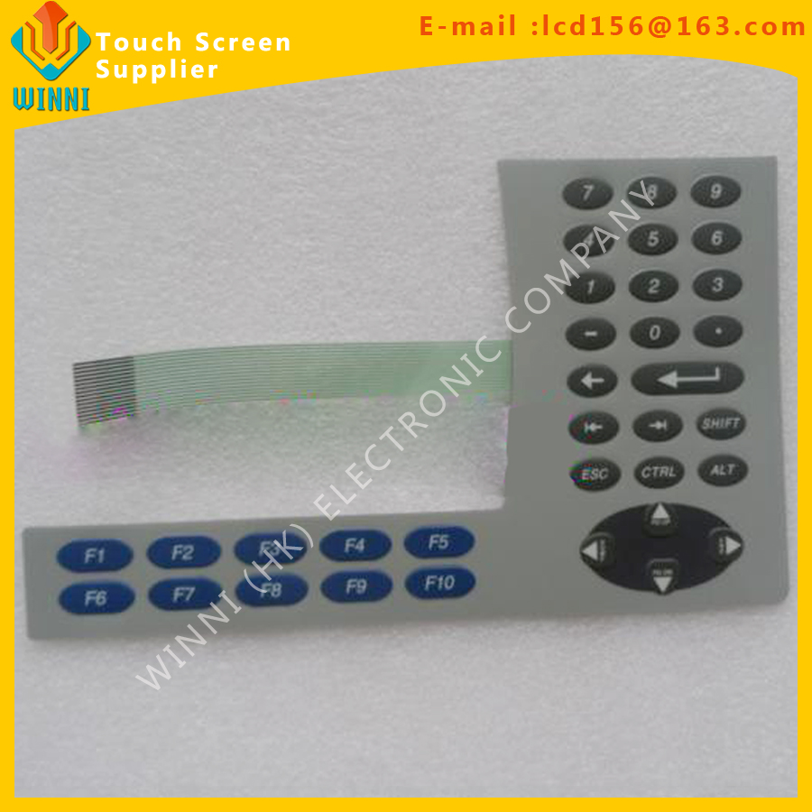 Detail Feedback Questions about 711P T6C20D8 Membrane Keypad