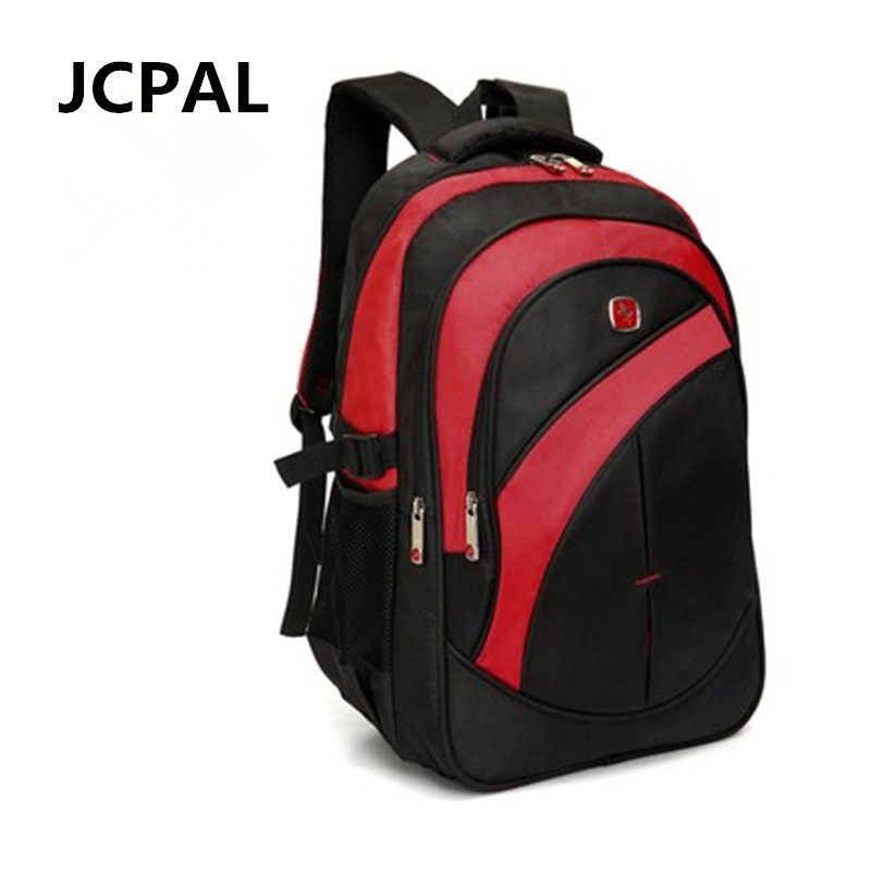 c6e772febead Waterproof Oxford Swiss Backpack Men 15 inch Laptop bag sac a dos ...