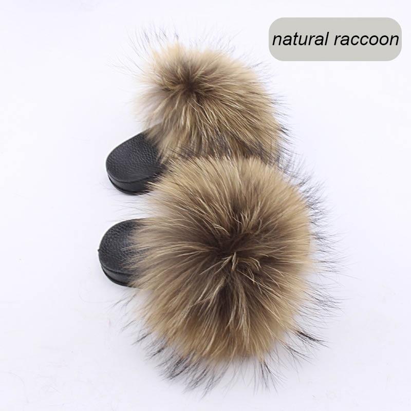 children slippers fox fur (19)