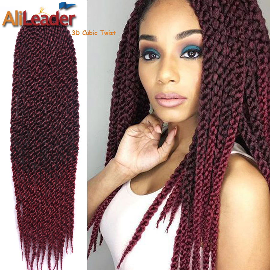Crochet Hair Retailers : .com : Buy Newly 3D Cubic Crochet Braid Hair Senegalese Twist Hair ...