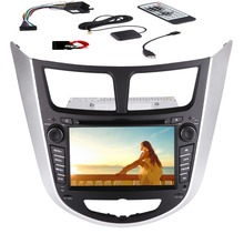 "Win 8 UI 7"" HD touch-screen Car DVD special for HYUNDAI VERNA (2010-2015)Car Radio with  GPS Nav Bluetooth Car Audio Stereo FM"