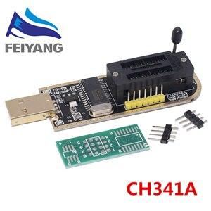 Image 2 - 10 pces smart electronics ch340 ch340g ch341 ch341a 24 25 séries eeprom flash bios programador usb com software & driver