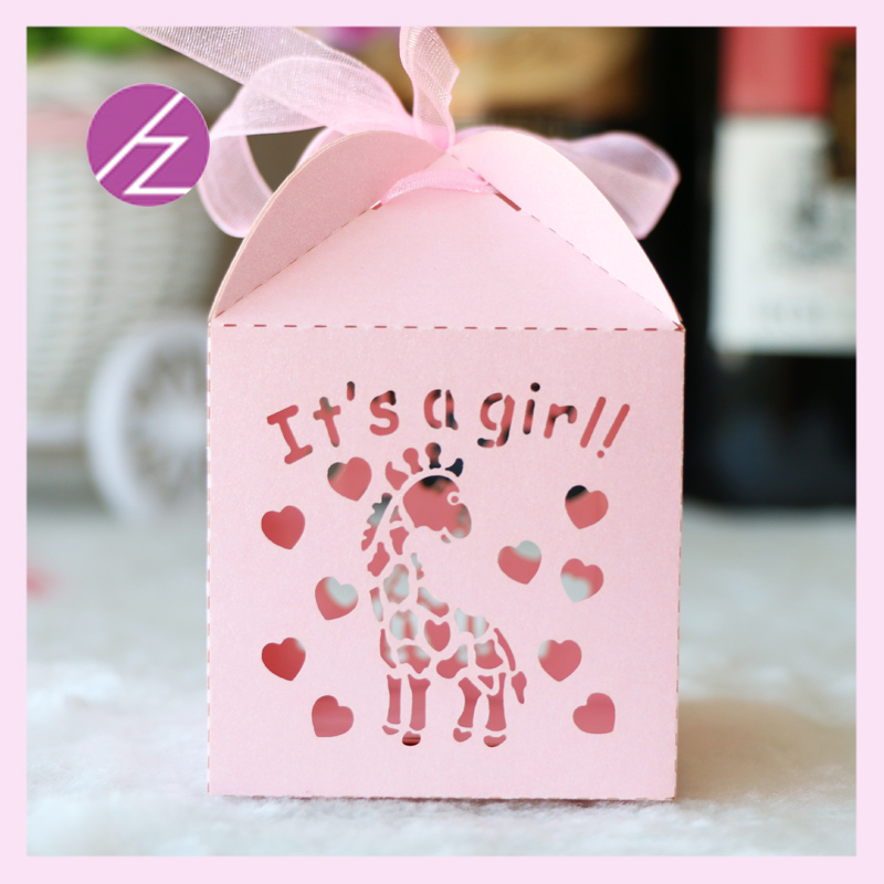 100 шт украшения для детского душа это девочка пол раскрывает конфеты коробка украшения на день рождения, товары для вечеринки сувениры бума...