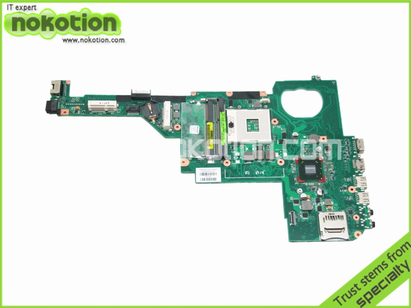 NOKOTION Laptop motherboard For Hp Pavilion dv4-5000 Intel hm77 DDR3 Socket PGA989 676756-001 nokotion laptop motherboard for lenovo g570 la 675ap mainboard intel hp65 ddr3 socket pga989