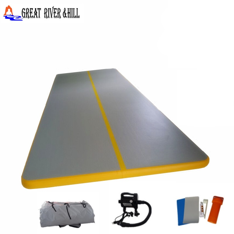 9MX2MX0.1M inflatable air track gym mat with fedex shipping