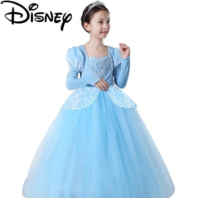 Disney Frozen dress Summer Girls Custom Anna Princess Children Elsa ...