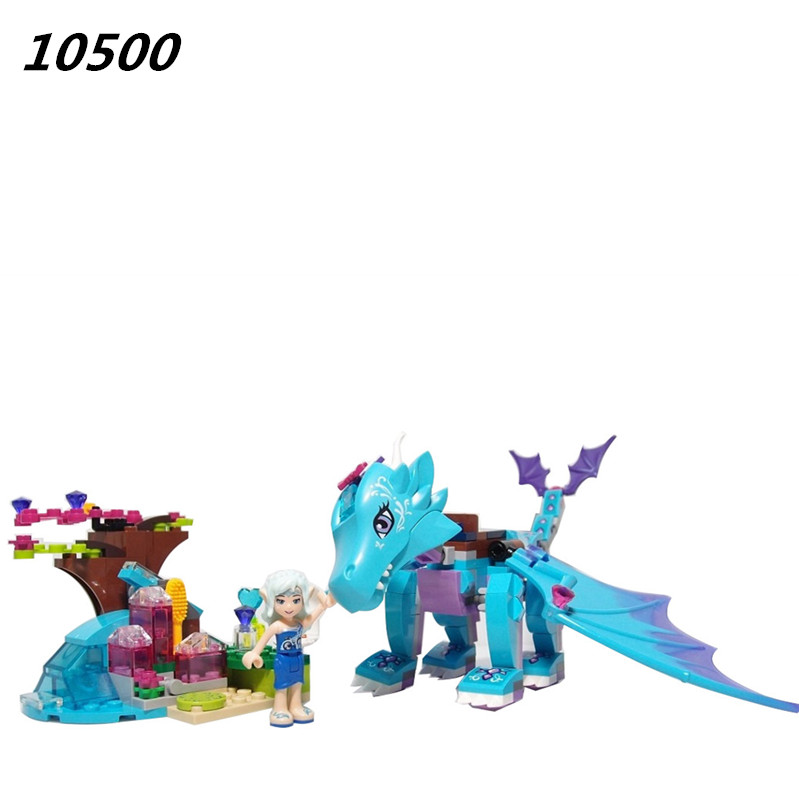 AIBOULLY 2017 New 214pcs 10500 The Water Dragon Adventure Building Bricks Blocks DIY Educational toys Compatible 41172 DIY chris wormell george and the dragon