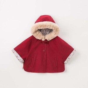 Image 3 - DBM7753 dave bella ฤดูใบไม้ร่วงฤดูหนาวเด็กทารก coat เด็กวัยหัดเดิน Hooded เสื้อเด็กคุณภาพสูง outerwear