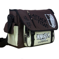 Naruto Tokyo Ghoul One Piece Attack On Titan My Neighbor Totoro Messenger School Bag Anime Single