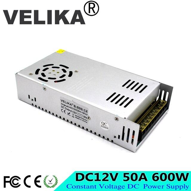 DC12V 13.8V 15V 18V 24V 27V 28V 30V 32V 36V 42V 48V 60V 300W 350W 360W 600W Switching Power Supply Source Transformer AC DC SMPS