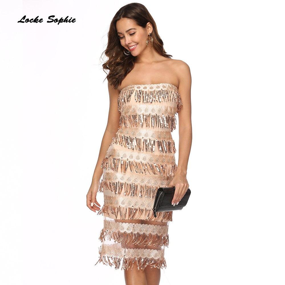 1pcs High waist Ladies Plus size Sexy Cake dresses 2019 Summer mesh Sequins Splicing Tassels Dress women Skinny Sexy Cake Dress in Dresses from Women 39 s Clothing