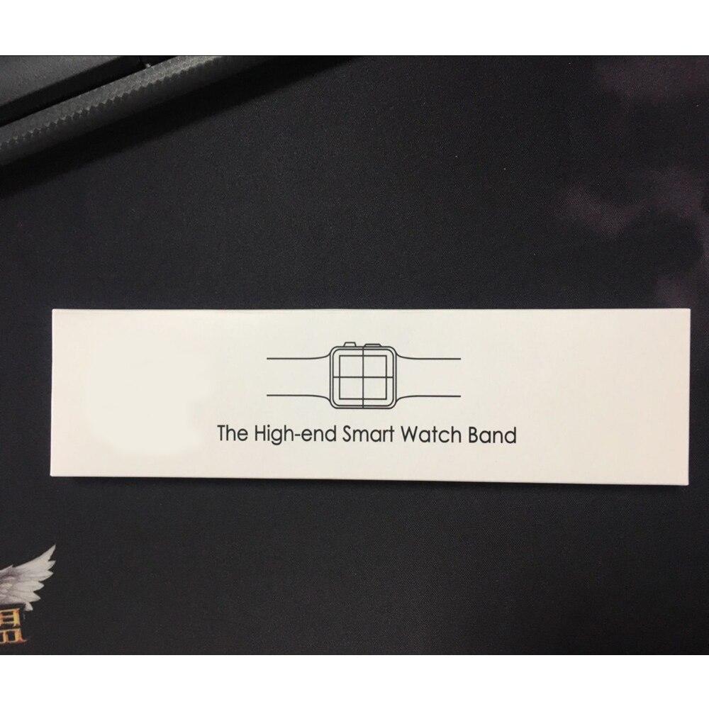 Bracelet pour Apple Bracelet de montre 44mm 40mm 42mm 38mm iwatch 4 3 2 1 Bracelet à maillons amovible en acier inoxydable Bracelet de montre intelligente