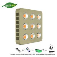 VENUS SK COB LED grow light sunlight chip 400W 600W 800W 900W 1600W full spectrum dimmable remote or WIFI control indoor plant