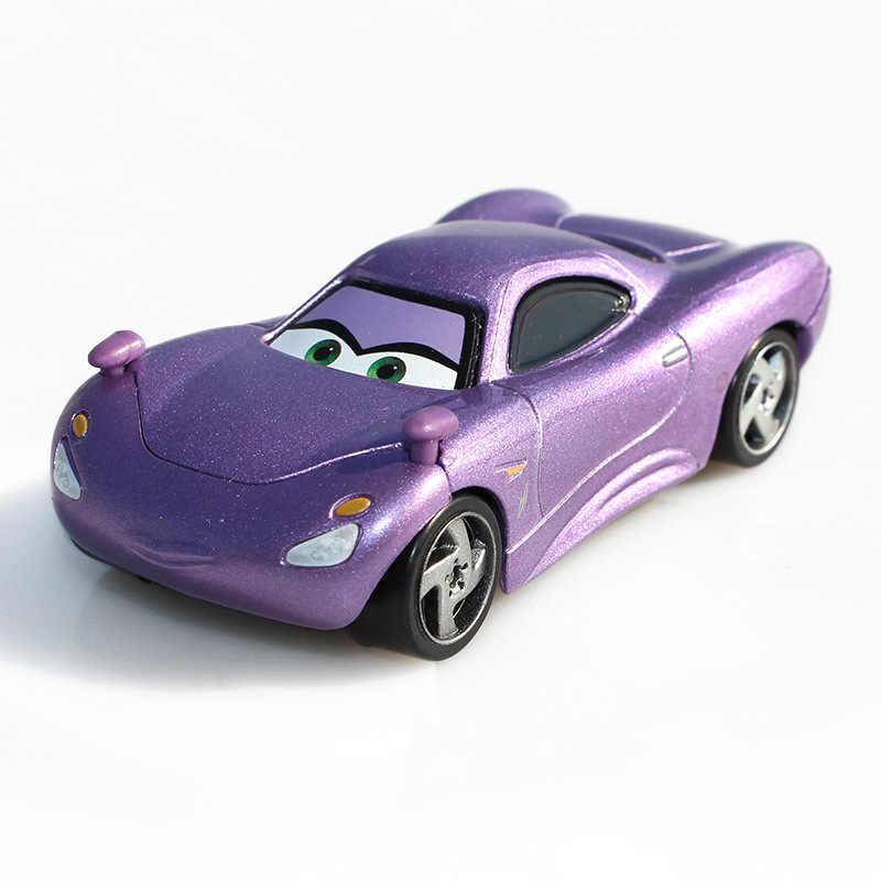 Disney Pixar Тачки 2 металлические игрушечные машинки цыпленок Хикс Молния Маккуин король литье под давлением игрушки из металлических сплавов подарок на день рождения 17 стилей