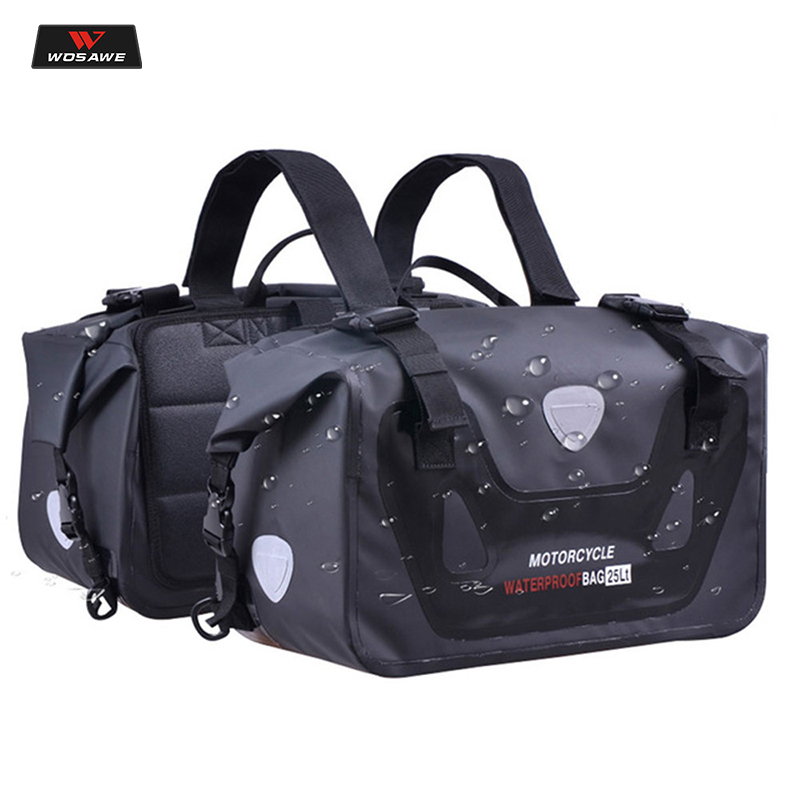 CUCYMA 50L Motorcycle Waterproof Saddle bags moto Racing Travel Luggage 50L Multi Function Motorbike Saddlebags for Motorcycles